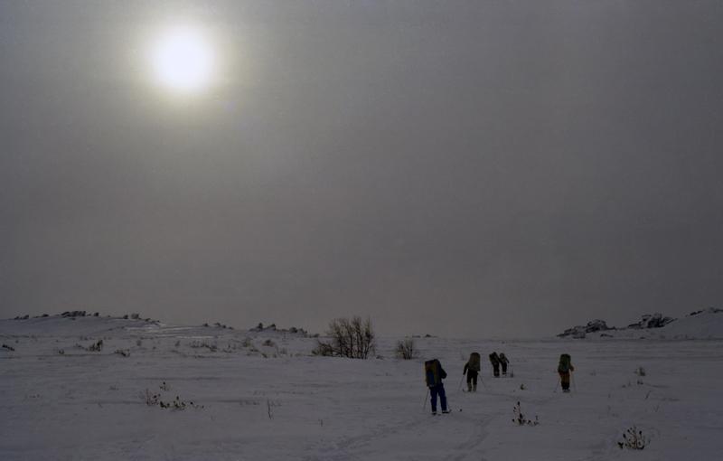 Циклон на перевале у Хусь-Ойке