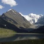 Алтай, на Аккемском озере, Белуха