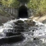 Река Ай, тоннель реки Каменка