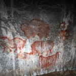 Капова пещера, копии наскальных рисунков