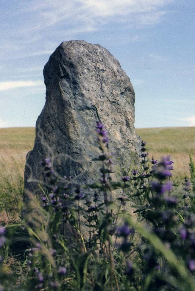 Аркаим. Менгир-каменный воин