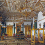 Малахитовый зал Зимнего дворца