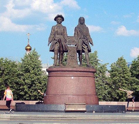 Отцы-основатели Екатеринбурга: Василий Татищев и Вильгельм де-Геннин