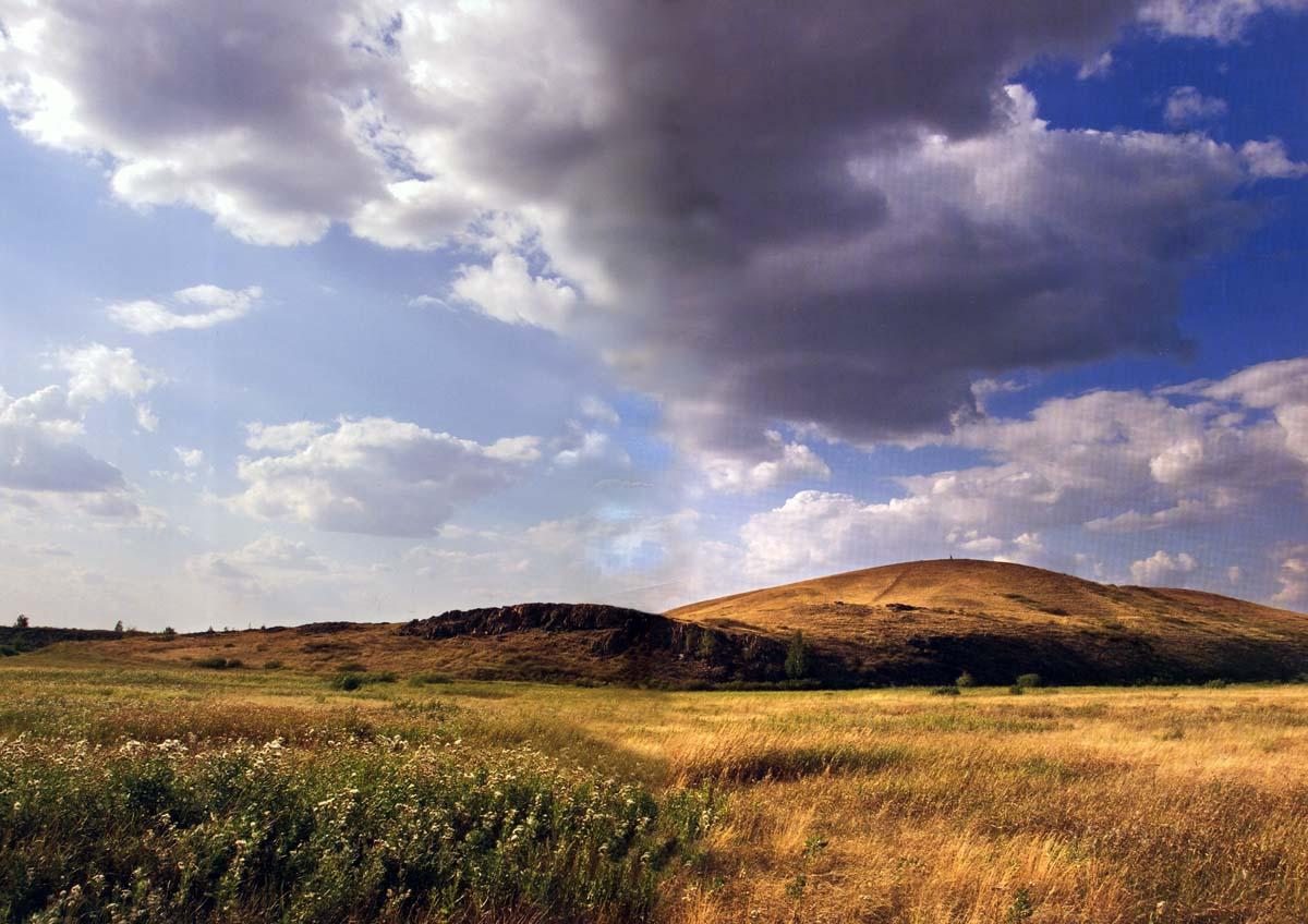 Аркаим. Гора Шаманка.