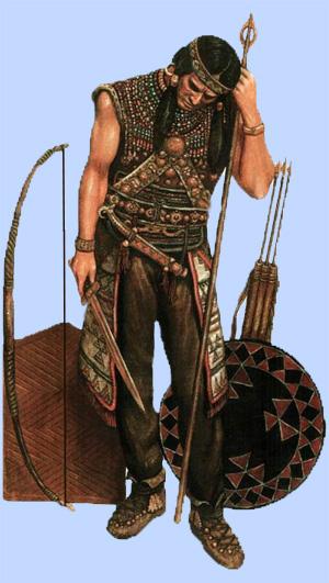 Воин эпохи бронзы