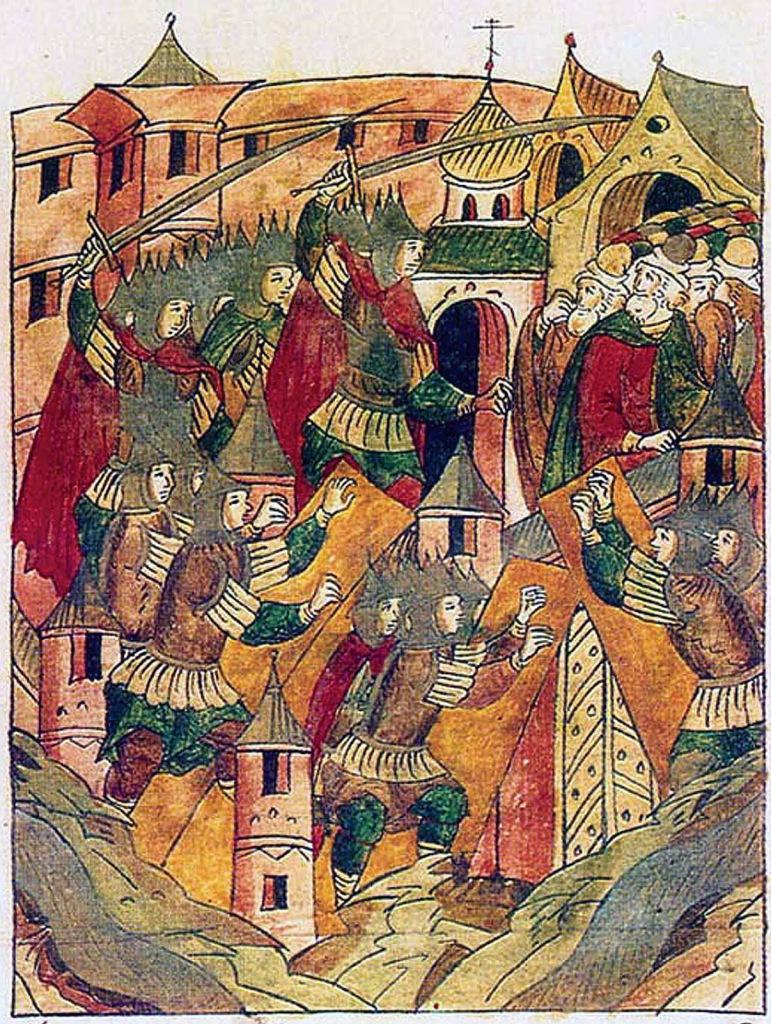 Взятие Батыем г.Владимира