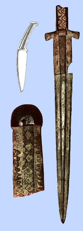 меч карасукской культуры (г.Томск)