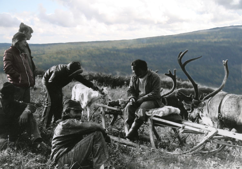 Встреча с манси-пастухом в районе Отортена