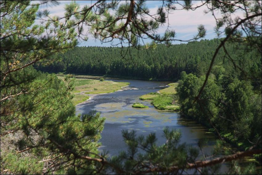 река Нейва (Средний Урал)