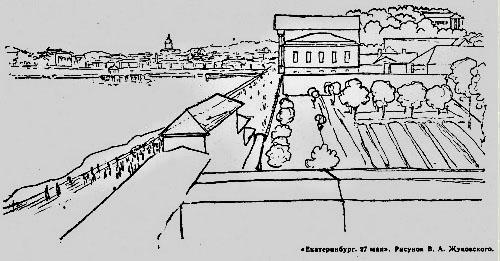 Рисунок В.А Жуковского