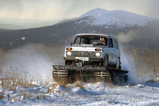 Суровые челябинские авто-танки