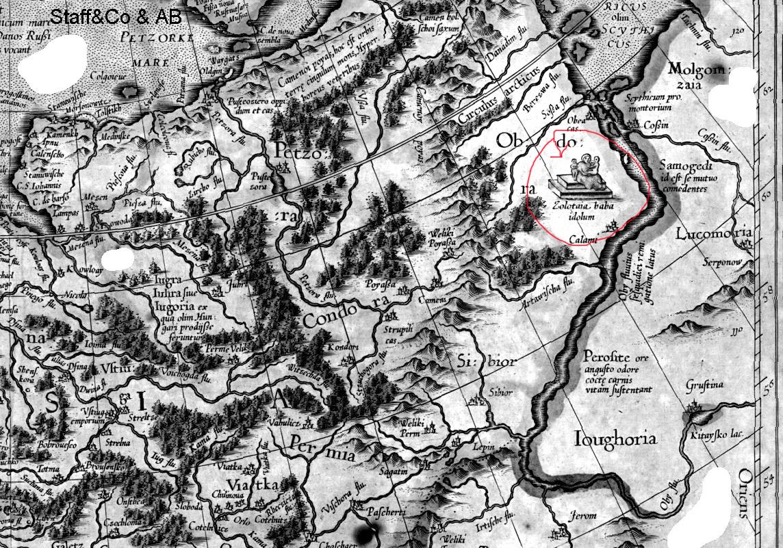 Золотая баба карта