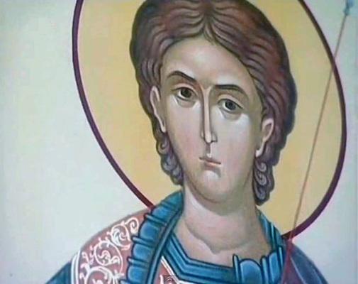 Икона святого Оуара