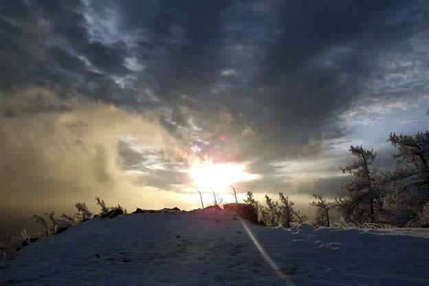 гора Сугомак вершина