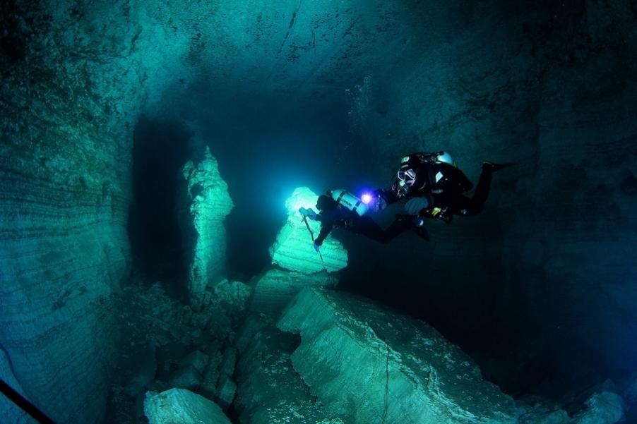 Ординская пещера, скала Парус