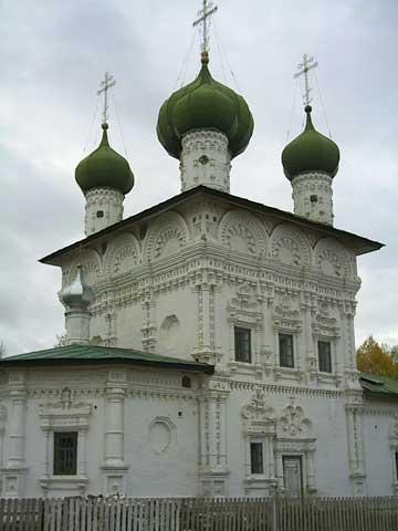 Ныроб, церковь на могиле боярина Михаила Романова
