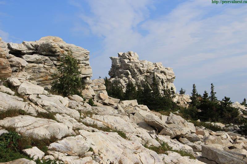 Хребет Зюраткуль Каменные медведи