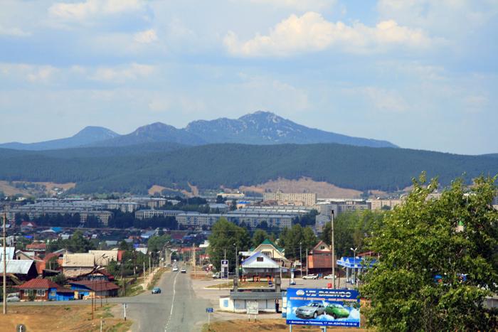 Въезд в Белорецк со стороны Учалов