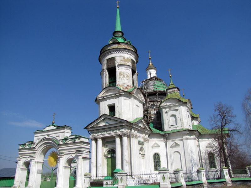 Никольская церковь (Быньги)