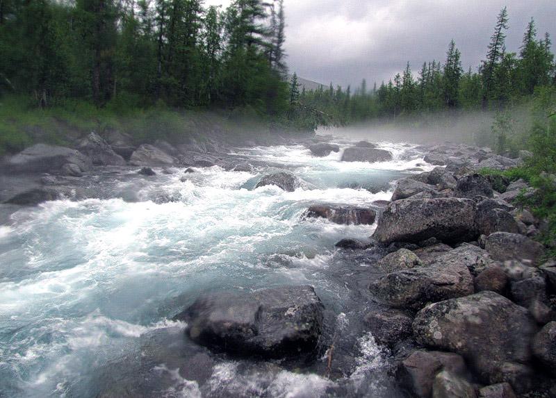 Верховья реки Манараги