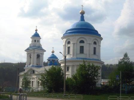Введенская церковь, г.Миньяр