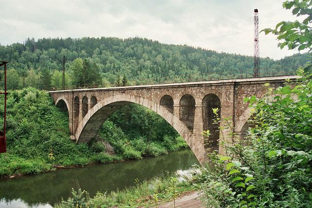 Миньяр, Никольский жд мост