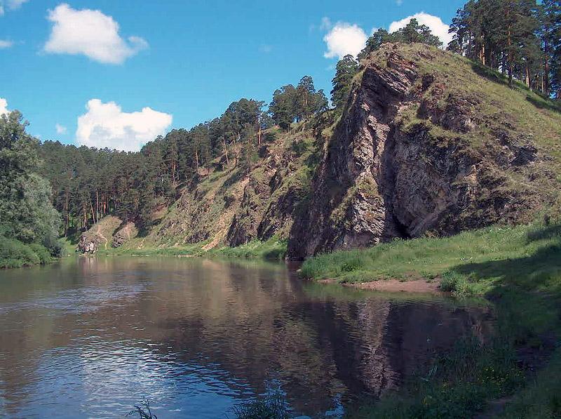 река Ай в окрестности Кусы