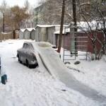Зима, Челябинск...