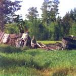 Хижина поселенца Артемия по прозвищу Кота, живущего на этом месте более 40 лет