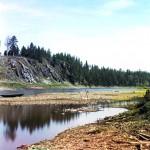 Камень Кукушкин. Река Чусовая