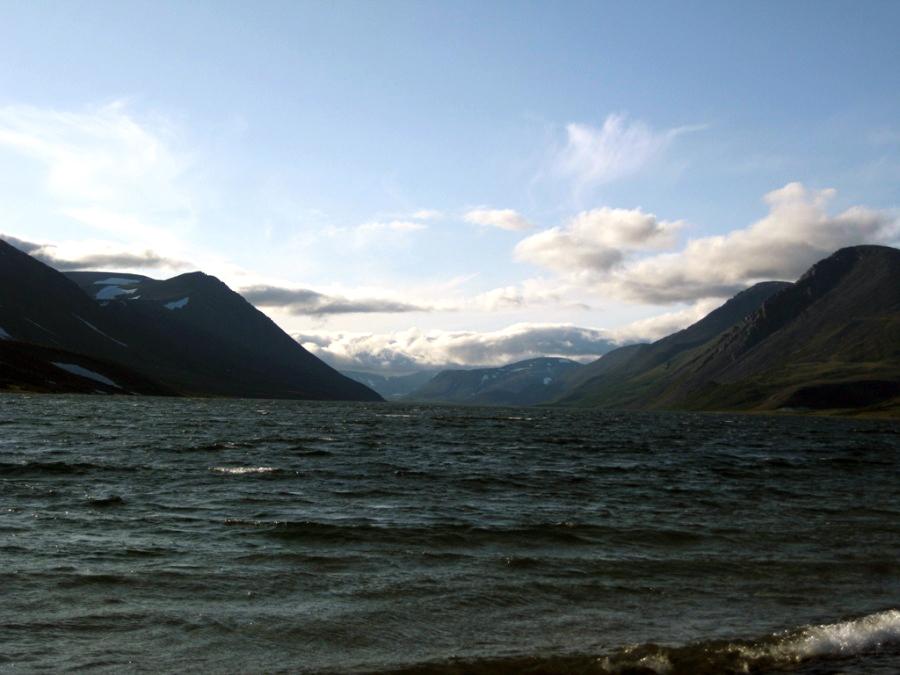Озеро Большое Щучье Полярный Урал