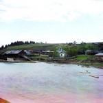 Река Чусовая. Пристань Илимка (Илим)