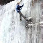 Водопад Куперля зимой