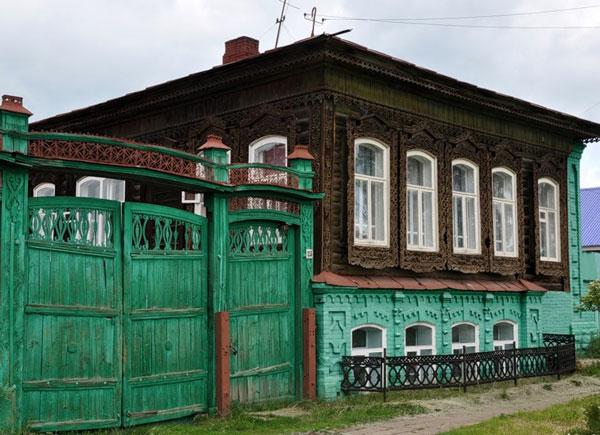 Верхнеуральск. Дом отца Э.Неизвестного