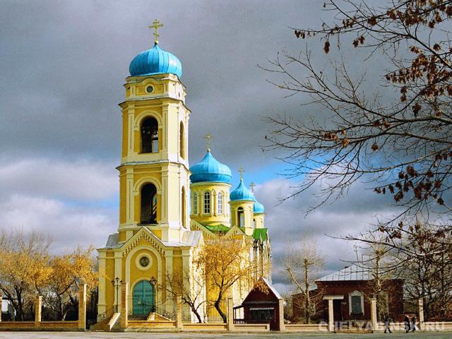 Верхнеуральск. Храм