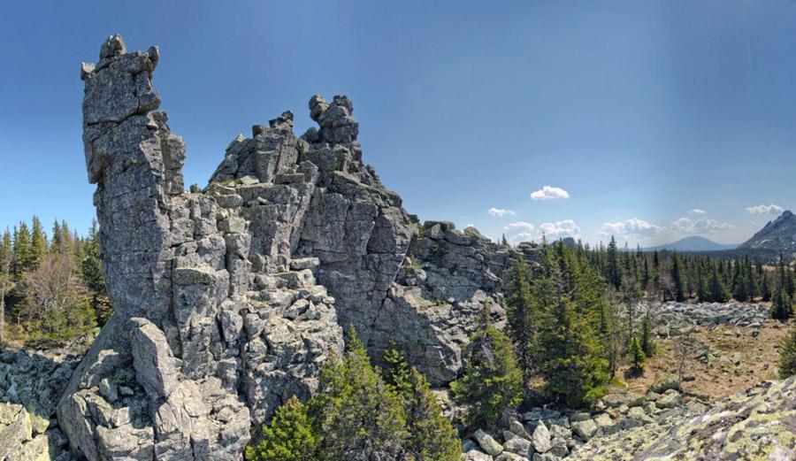 Скальное горожище на хребте Нары