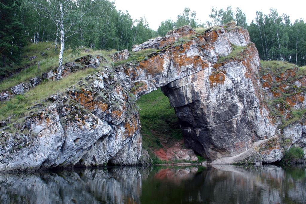 Каменные ворота на Исети (Каменск-Уральский)