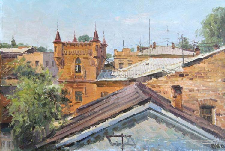 Алексей Ефремов. Крыши Ирбита