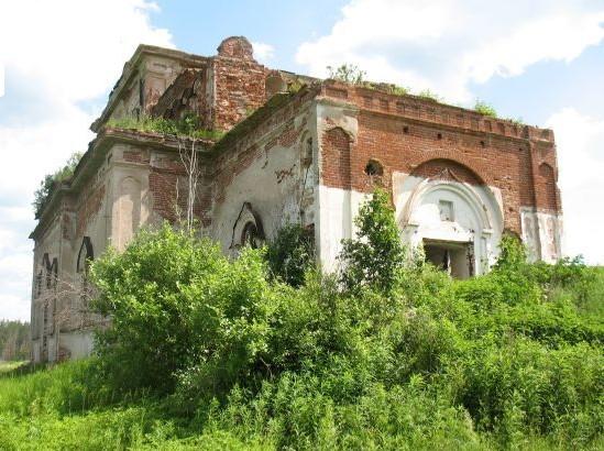 заброшенный Храм Симеона Верхотурского