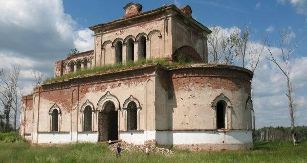 Разрушенный Храм Симеона