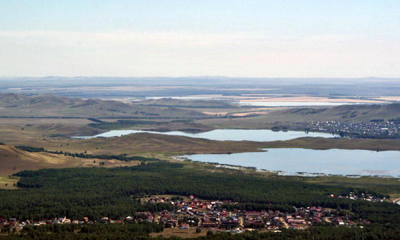 Банное и другие озера