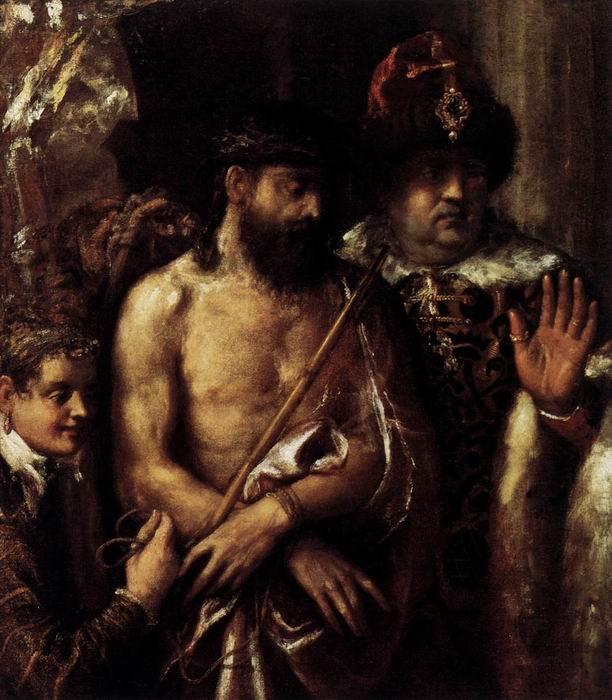 Тициан Иисус и Понтий Пилат