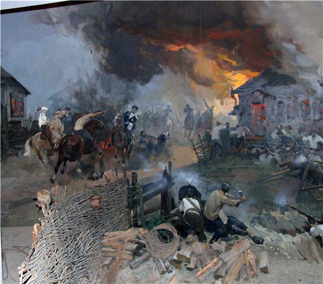 Бой  за Лбищенск 1919 г