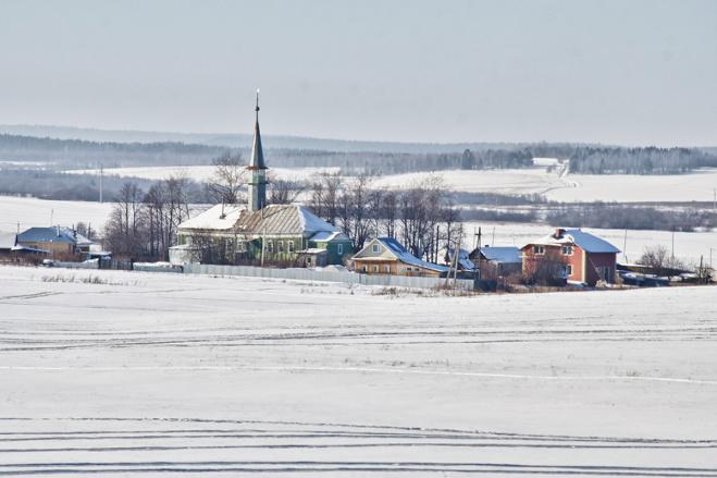 деревни Сибирского тракта.