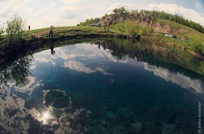 Сарва - озеро-источник