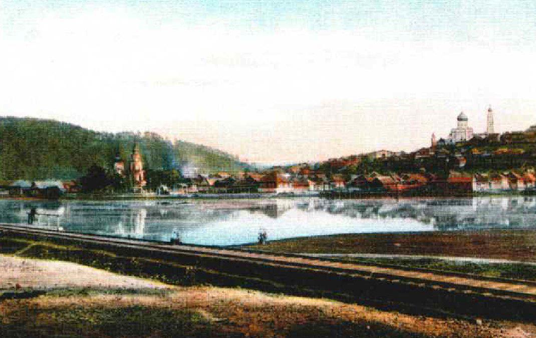 Вид на Златоуст 1891