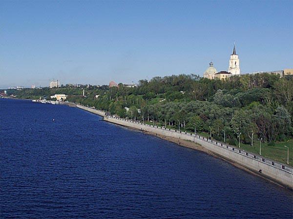 Пермь. Кама