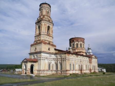 Храм Архангела Михаила (с.Маминское)