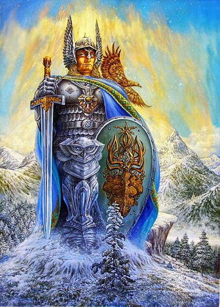 Аус-ях - железный богатырь
