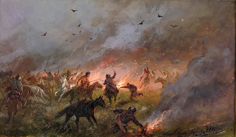 Пленение пелымского князя Алегирима